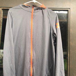 Under Armour Men's Gray 1/4 Zip Shirt Size Small